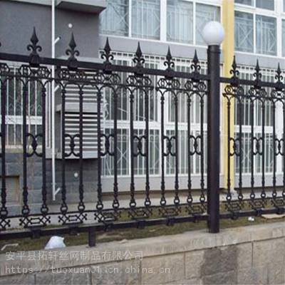 优惠优质 建筑锌钢护栏 锌钢围墙护栏 景区锌钢护栏 安平
