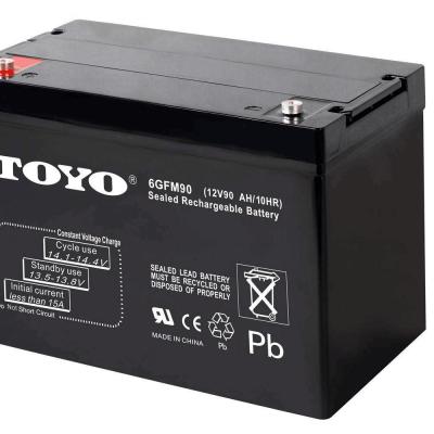 东洋蓄电池6GFM120恒达东洋蓄电池12V120AH