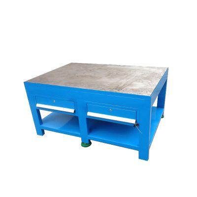 广州模具焊接工作台,钢板台面工作桌颜色