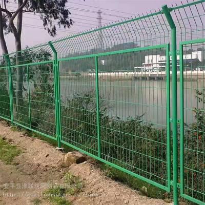 绿化隔离网 围墙防护网 浸塑铁丝网厂家