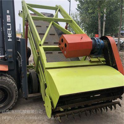 青贮窖池取料机 6米青贮坑挖草机 手动启动扒草机