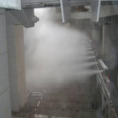 大同电厂输煤系统粉尘治理超声波负氧离子喷雾抑尘系统
