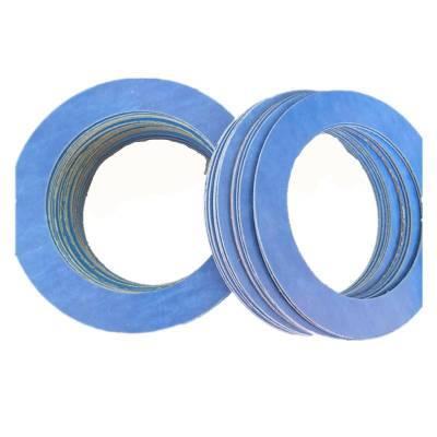 远坤无石棉垫片 芳纶纤维垫片价格 蓝色非石棉垫片