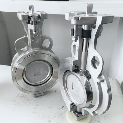 高性能涡轮气动防暴蝶阀 D673W-40P DN100