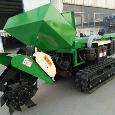 启硕机械生产加宽加深开沟机 果园施肥开沟机价格 斜坡地开沟施肥回填机