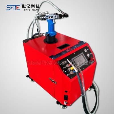 东莞现货供应世亿品牌3.4抽芯铆钉造船业专用铆接LD400拉铆机