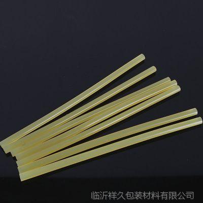 供应黄色热熔胶棒   速干持久高粘性热熔胶棒 合成胶粘剂熔胶棒