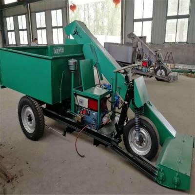 链板式清理粪便刮粪车 润丰 畜牧业专用 柴油清粪车制造商