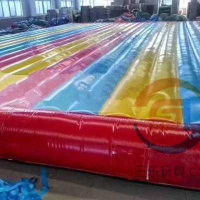 黑龙江七台河新款网红桥充气气垫厂家供应