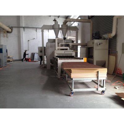 厂家直销木板木纹木器家具自动喷砂机_YQ型板木纹木器家具喷砂机定制中