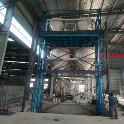景德***制仓库2吨3吨5吨导轨式升降货梯 厂房升降平台 车间货梯设备