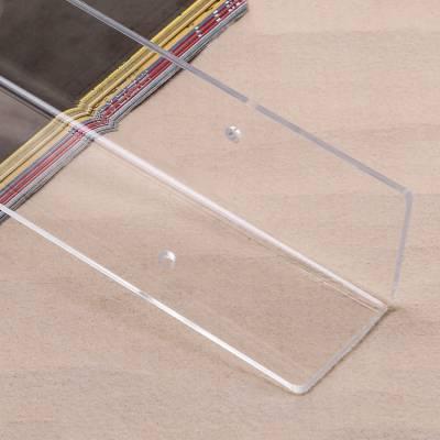 厂家批发亚克力墙贴 透明亚克力折弯护墙板打孔 有机玻璃护墙角
