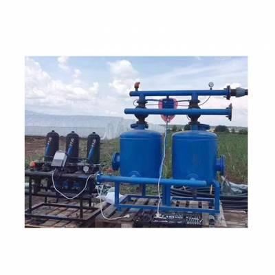 农用微喷灌溉全自动砂石反冲洗过滤器报价