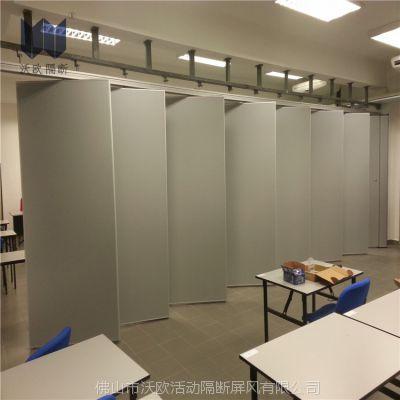 包厢活动隔断厂家 展览厅移动隔断展板 会议大厅隔音移动墙