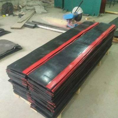 人字双层防溢裙板 电厂煤矿挡煤皮子 导料槽耐磨密封板