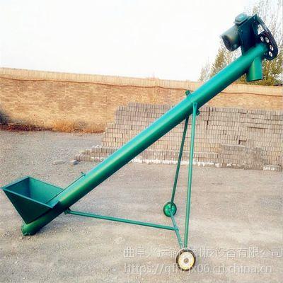 微型螺旋给料机来图生产 忻州U型螺旋输送机调试厂家订购