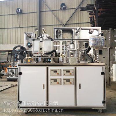 传统基质黑膏药制作机器 药商专用新型膏药生产线 泽康膏药机可定制