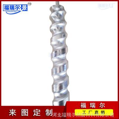 厂家直销进瓶螺旋 黑色MC含油尼龙进瓶螺杆 PC加纤螺杆尼龙用螺杆