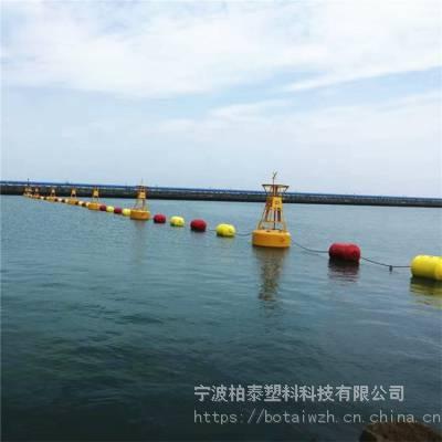 海上航道浮标 定制耐腐蚀耐老化带灯塑料航标