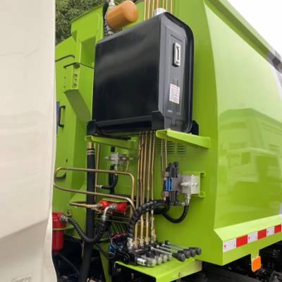 压缩垃圾车4立方压缩式垃圾运输车多少钱