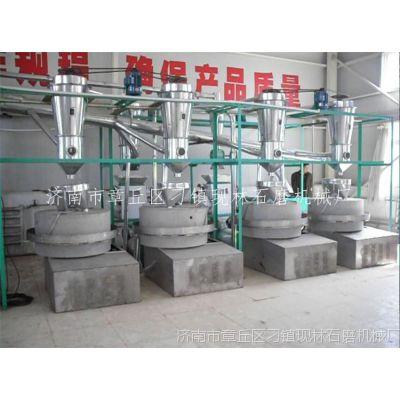 电动石磨机米浆石磨机 福建肠粉石磨机 湿大米电动碾磨机香油石磨