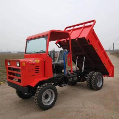 电启动农用四轮运输车 矿用四轮工程车 单缸25马力柴油四轮工程车