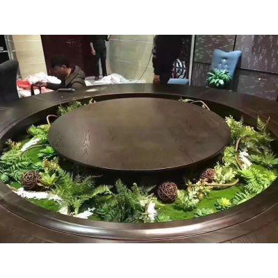 桌盘景观桌子造景餐桌设计微景观桌盘布置桌子美化