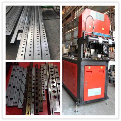 银江机械供应优质全自动数控液压冲孔设备|可冲不锈钢-锌钢-铝型材-园林护栏|伺服送料|品质保证