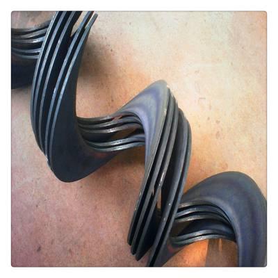 不锈钢碳钢螺旋叶片A浚县AOD不锈钢碳钢螺旋叶片 绞龙叶片A制造厂家