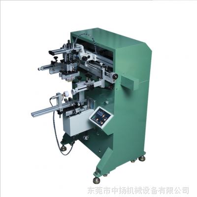东莞中扬气动曲面丝印机/气动丝印机/半自动丝印机/圆面丝印机