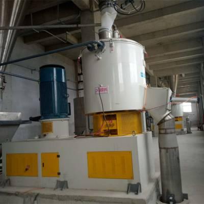 云帆机械SHR-1000A高速混合机多少钱-1000升高混机厂家直销