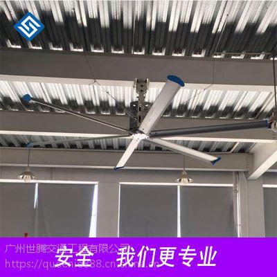 顺德 大型工业吊扇厂家 7米风扇体育场降温 进口三菱直流风扇 节约成本 使用寿命长