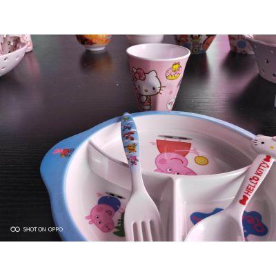儿童智力餐具