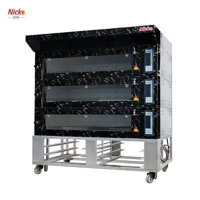 尼科烘焙设备 瑞典式三层六盘电层炉 面包店烘焙电烤炉 面包蛋糕烘焙机