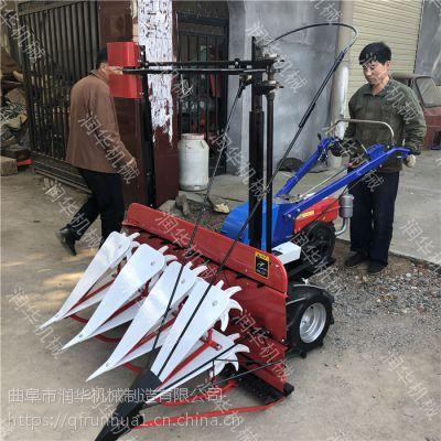 青玉米收割机厂家 小麦水稻割倒机 拖拉机前置割晒机