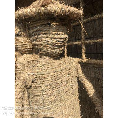 长期供应各种稻草编制的造型 面具 卡通动画片 植物 丰收主题