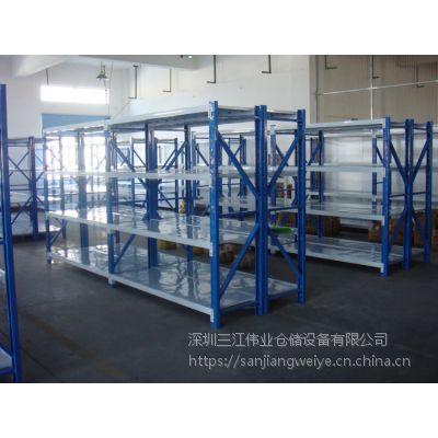 厂家批发货架标准四层货架、拆卸货架、办公室货架、家用仓库置物架