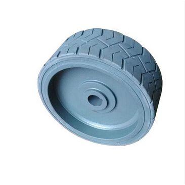 出售鼎力剪叉升降机轮胎,实心橡胶轮胎,尺寸380*115