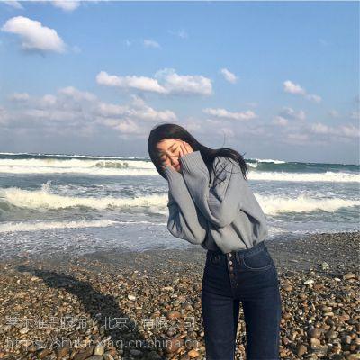 宝贝玛丽广州石井欧货尾货批发市场折扣女装 北京市尾货批发粉色雪纺衫