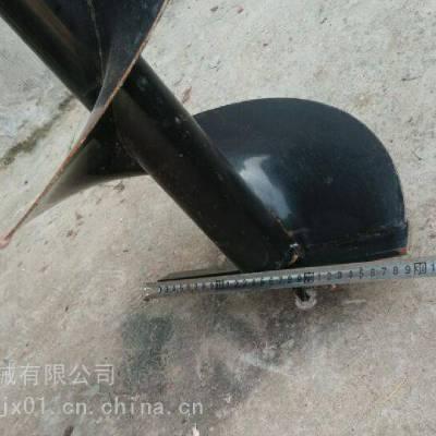 智航手提挖坑钻眼机 双人操作挖坑机 家庭用30厘米直径打眼机