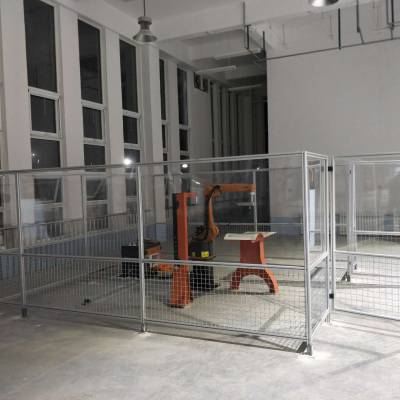 焊接防护屏,合肥焊接防护围栏隔断,PVC焊接防护屏生产厂家,高藤门业