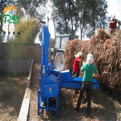 农作物秸秆铡草机 干湿牧草揉丝机 青储粉碎机厂家