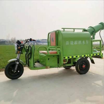 新款电动洒水车 小型电动三轮雾炮车 环卫电动雾炮车 旭阳