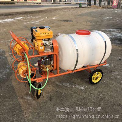 打灭草剂用柴油打药机 润丰 开着用农用喷雾器