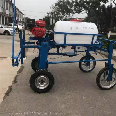 自走式四轮打药机棉花玉米杀虫喷雾器