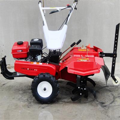 果园翻地耕作设备 小型手扶式农耕松土机 热销款微耕机