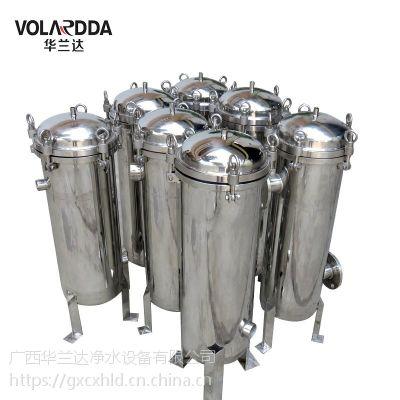热销贵港花生油厂榨油机专用除杂提纯袋式过滤器 杂质拦截在滤袋中可清洗后再回用