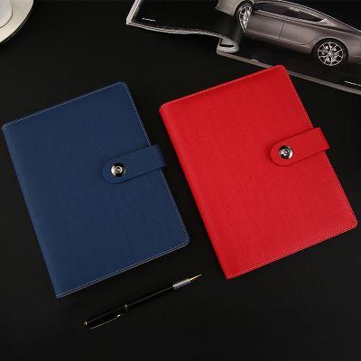 厂家直销A5活页记事本PU皮笔记本定制logo商务笔记本套装批发定做