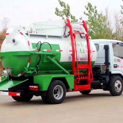 国六程力环卫垃圾车-江苏昆山定制餐厨垃圾车厨余垃圾车