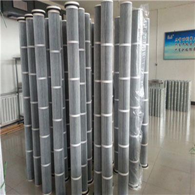 两米高滤芯(耐高温防静电) 2000mm长钢厂锅炉房除尘滤芯--隆信滤筒